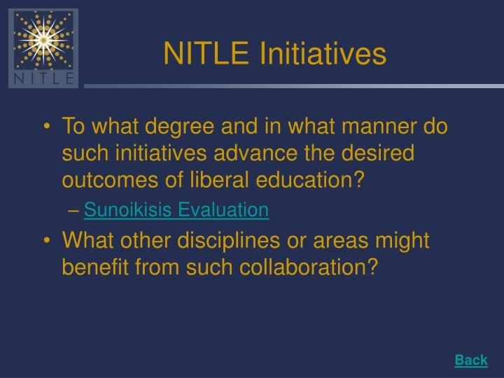 NITLE Initiatives