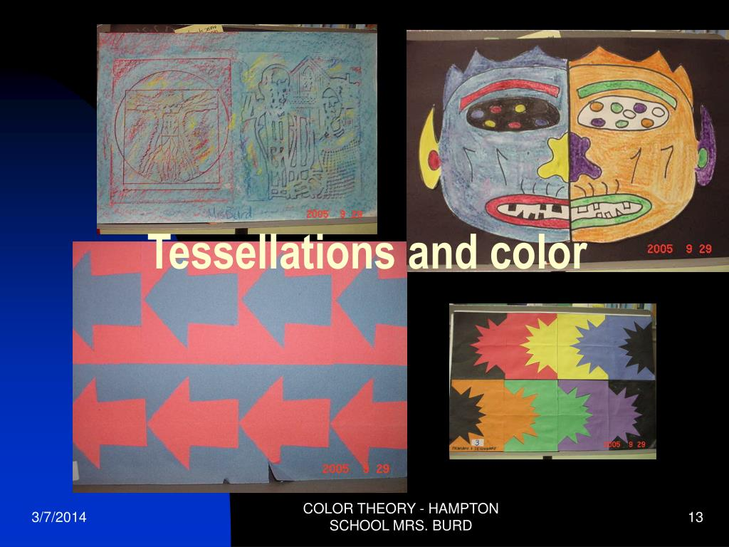 Tessellations and color