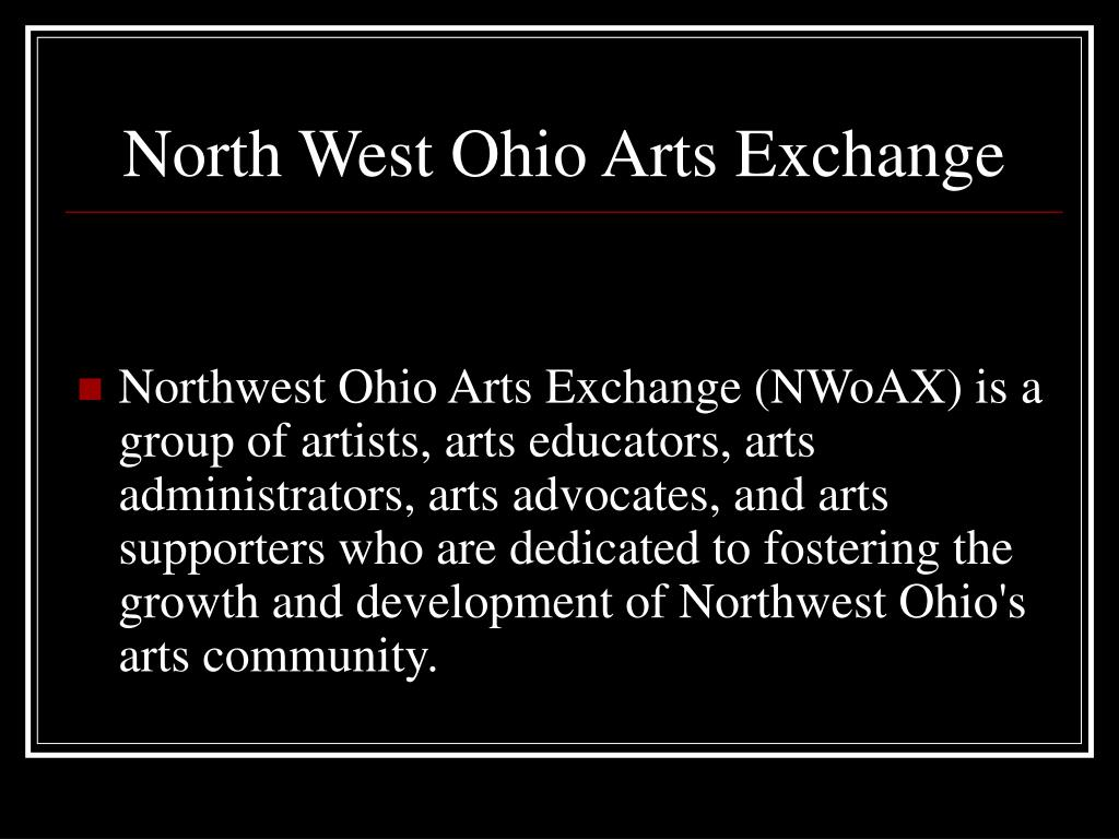 North West Ohio Arts Exchange