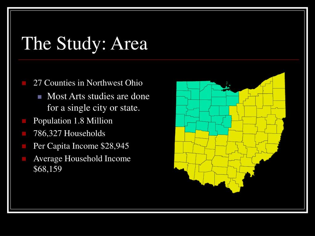 27 Counties in Northwest Ohio
