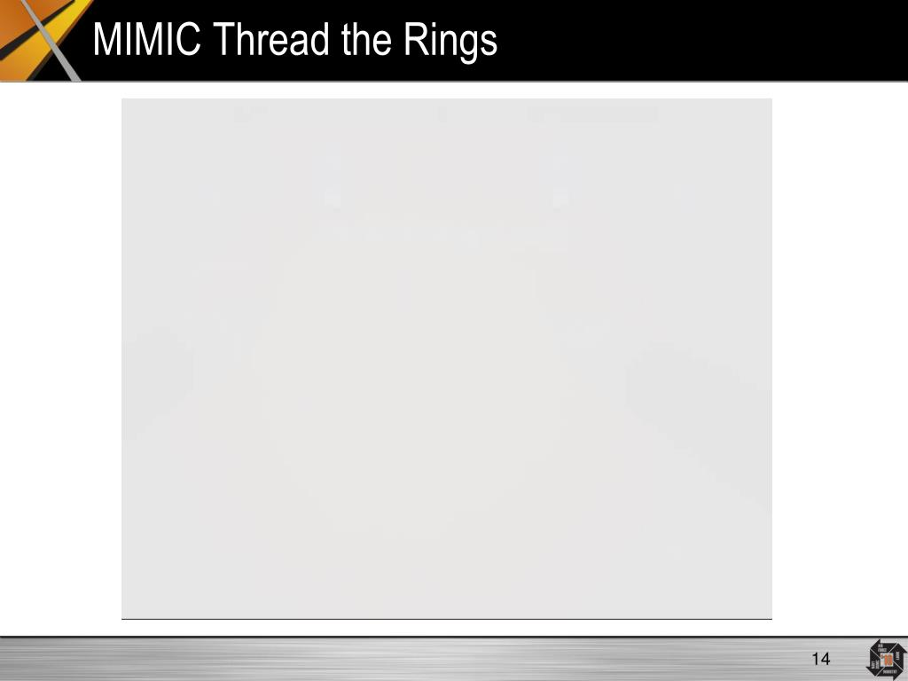 MIMIC Thread the Rings