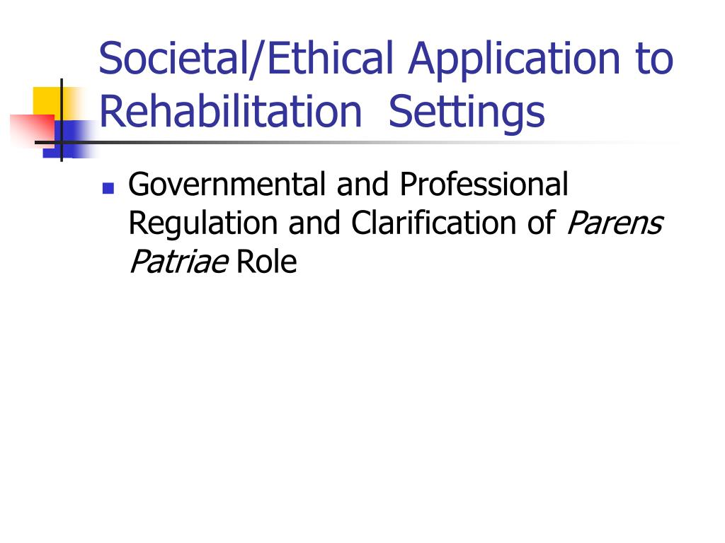 a study of parens patriae Aa recovery, constitution.