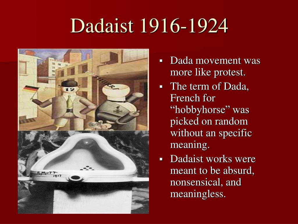Dadaist 1916-1924