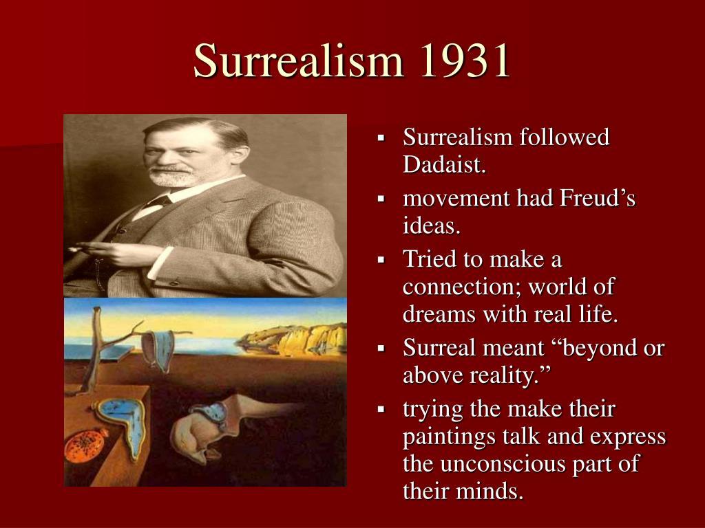 Surrealism 1931
