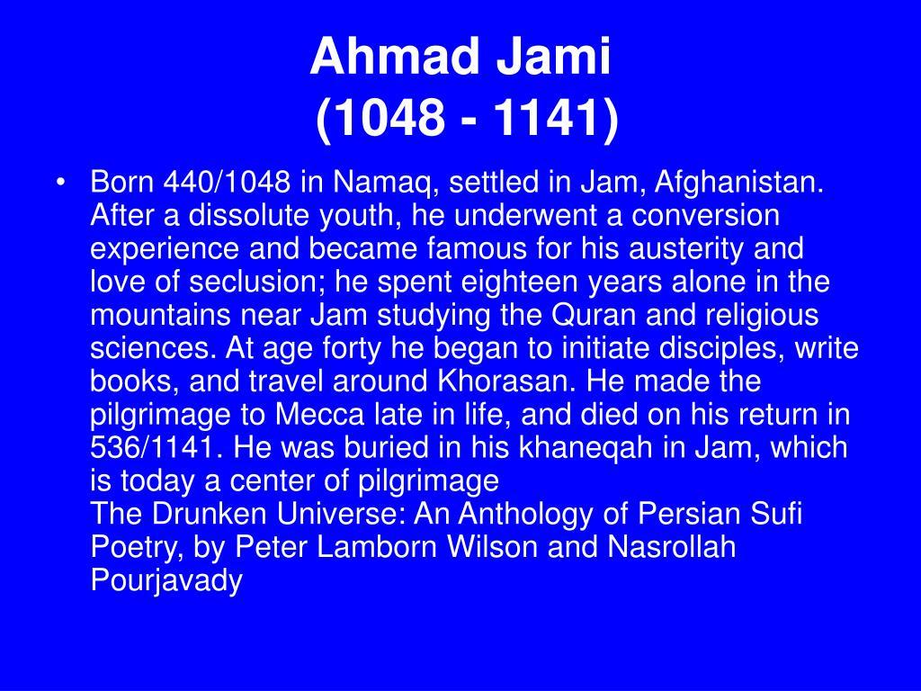 Ahmad Jami