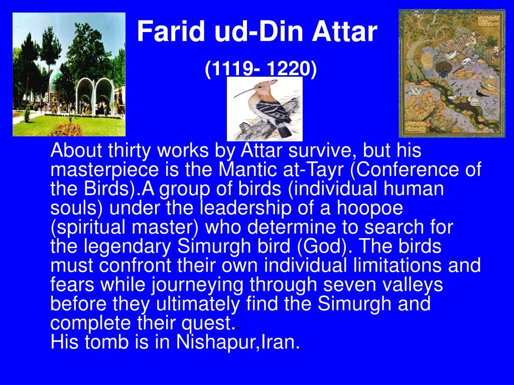 Farid ud-Din Attar
