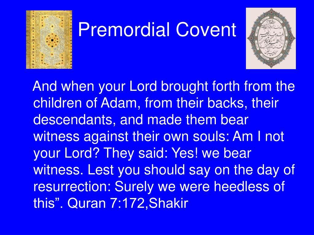Premordial Covent