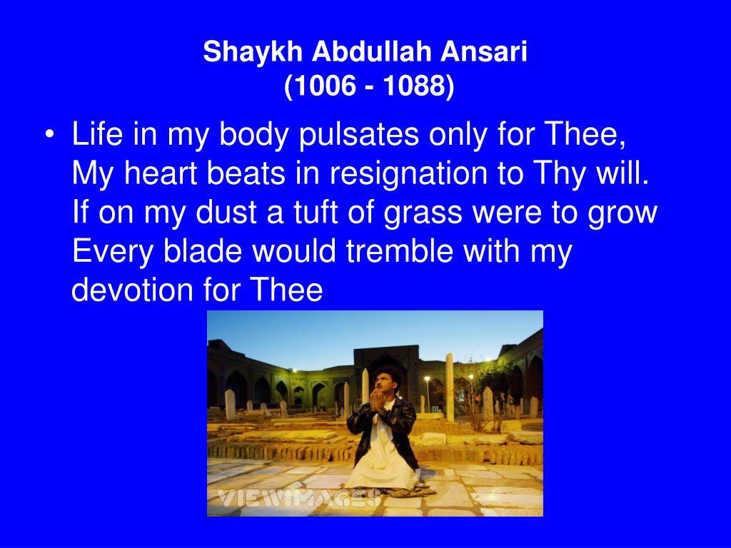 Shaykh Abdullah Ansari