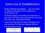 sufis love of god mankind7