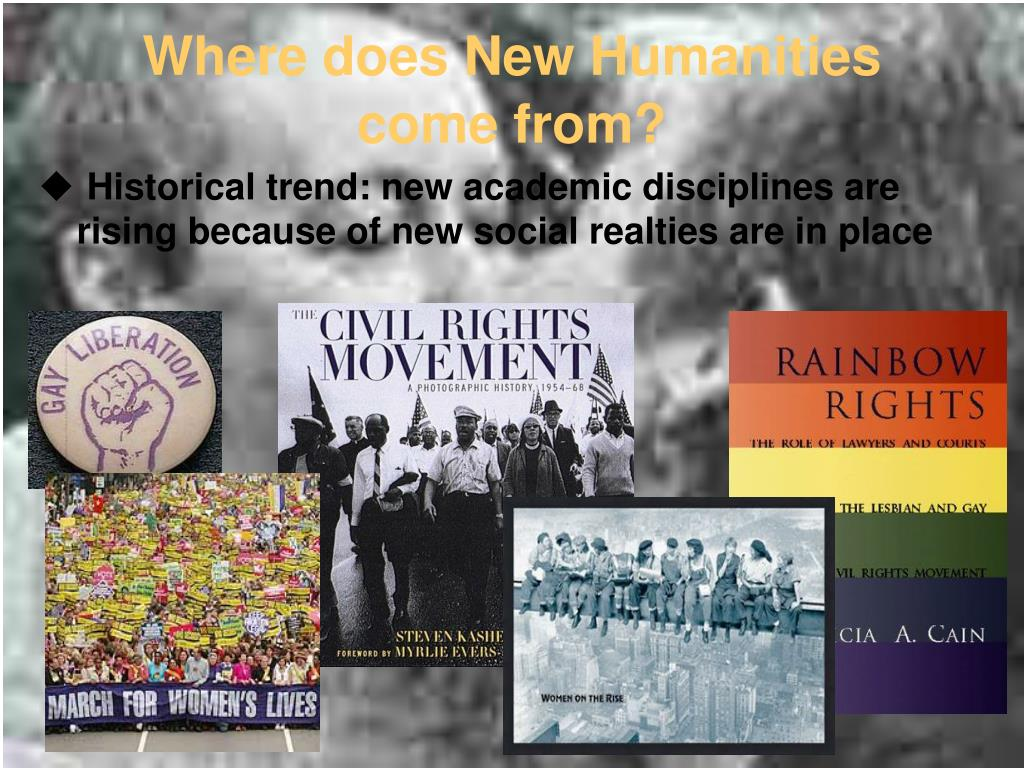 Where does New Humanities