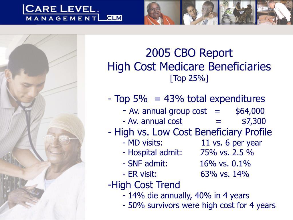 2005 CBO Report