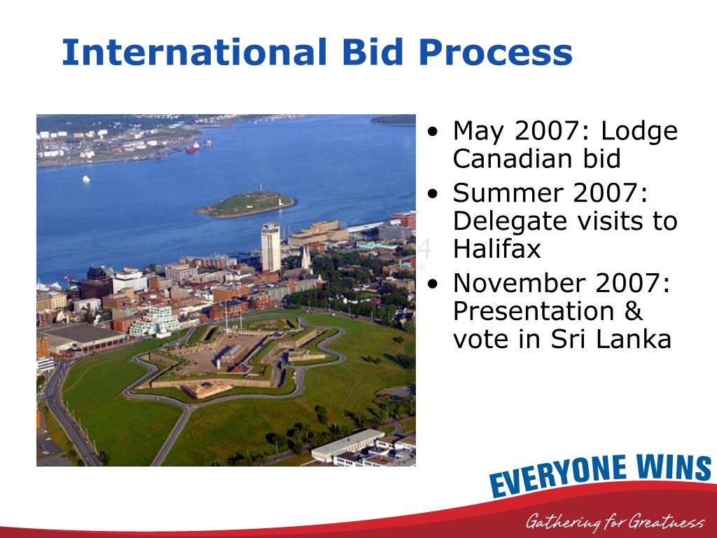 International Bid Process