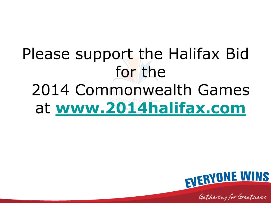 Please support the Halifax Bid for the