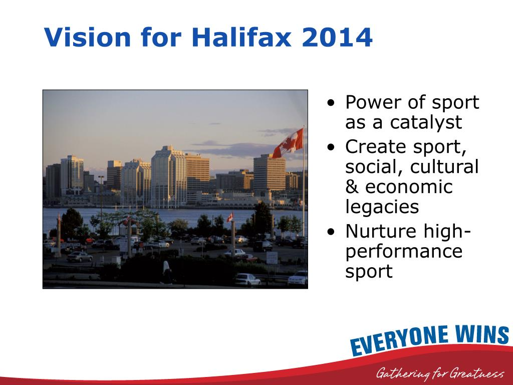 Vision for Halifax 2014