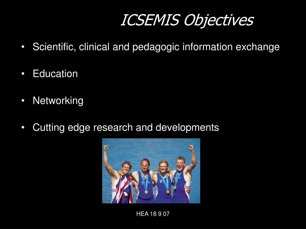 ICSEMIS Objectives
