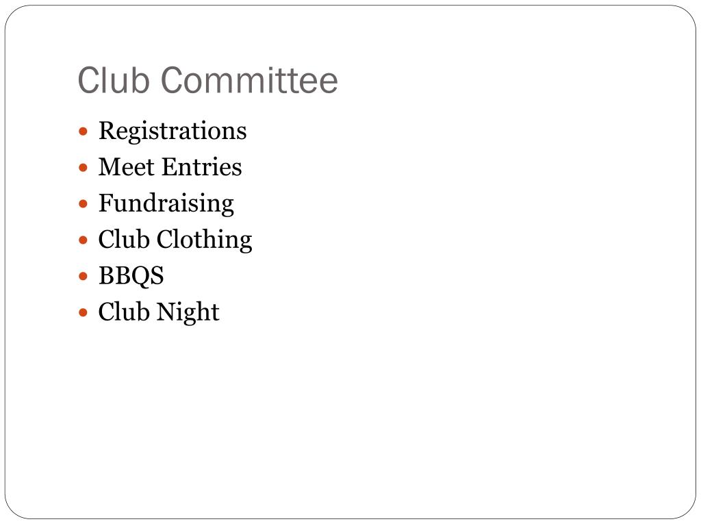 Club Committee