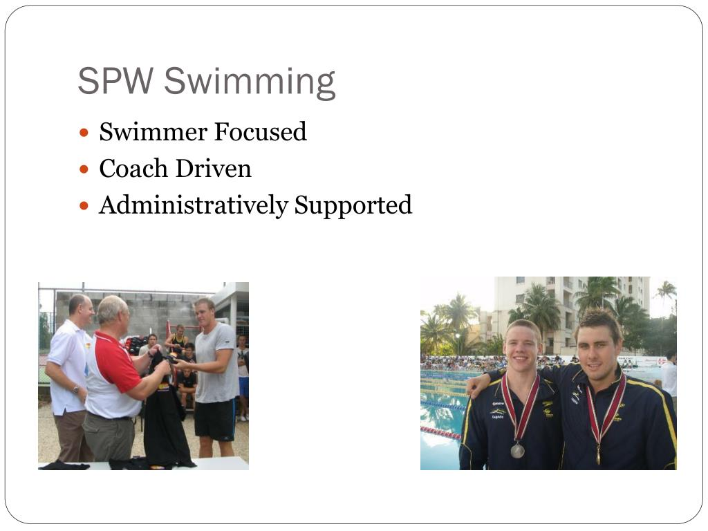 SPW Swimming