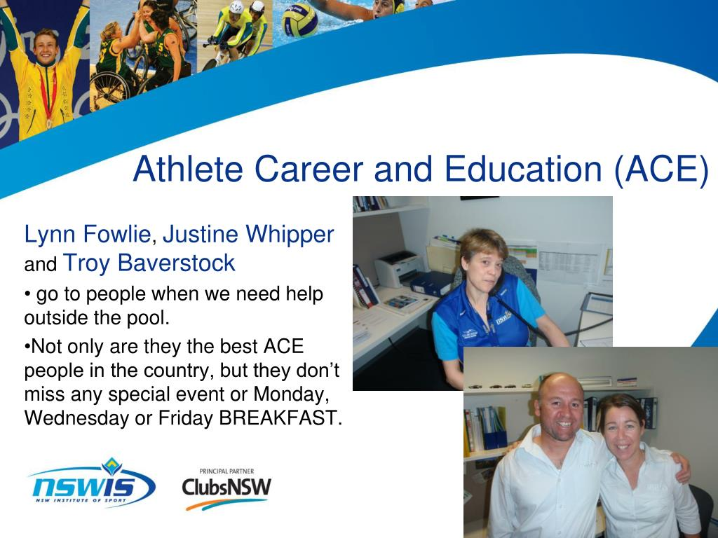 Athlete Career and Education (ACE)