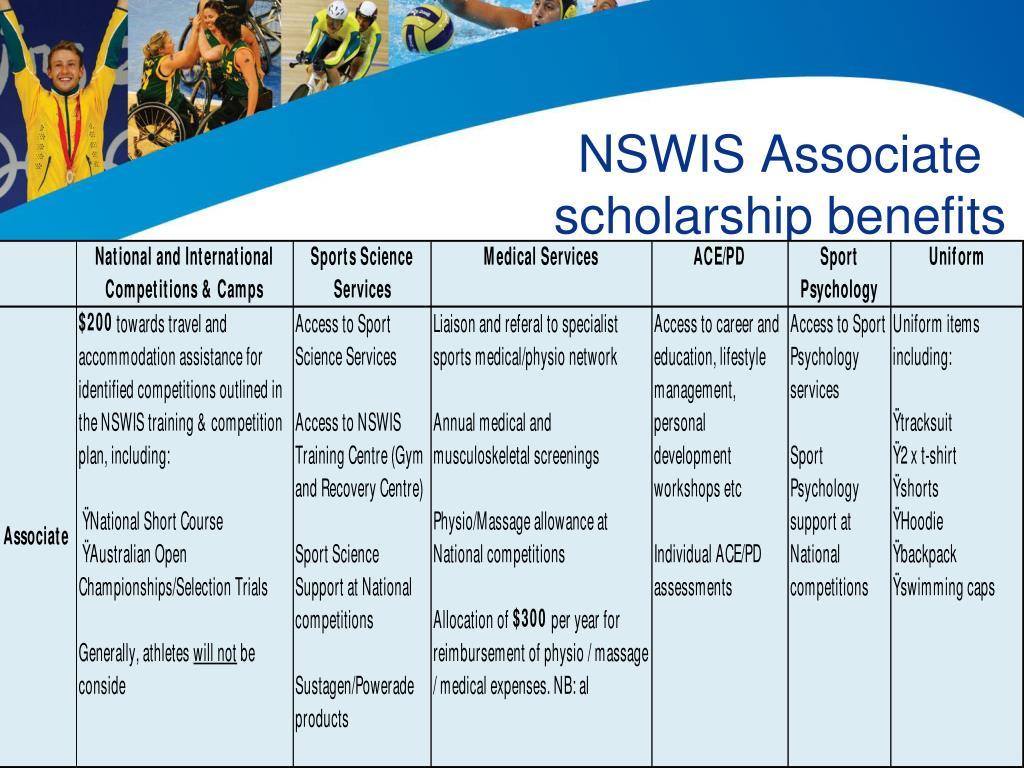 NSWIS Associate
