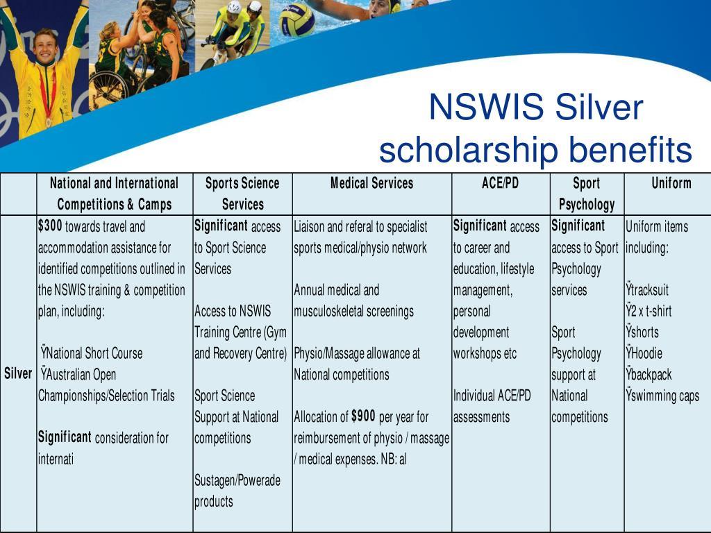 NSWIS Silver