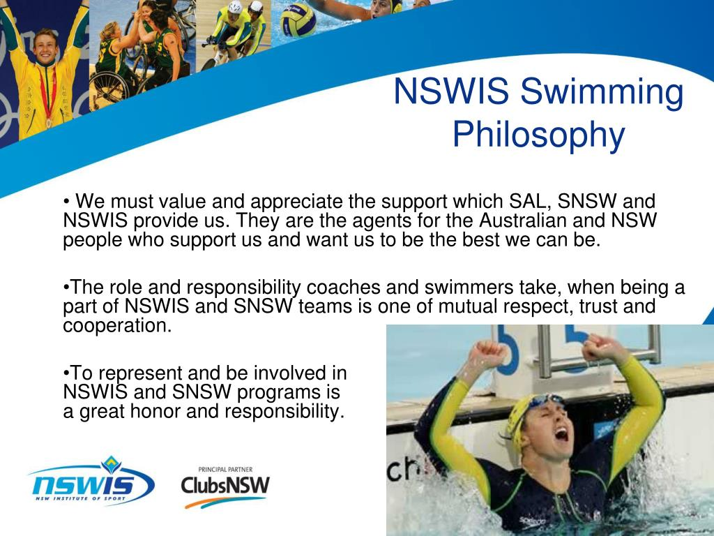 NSWIS Swimming