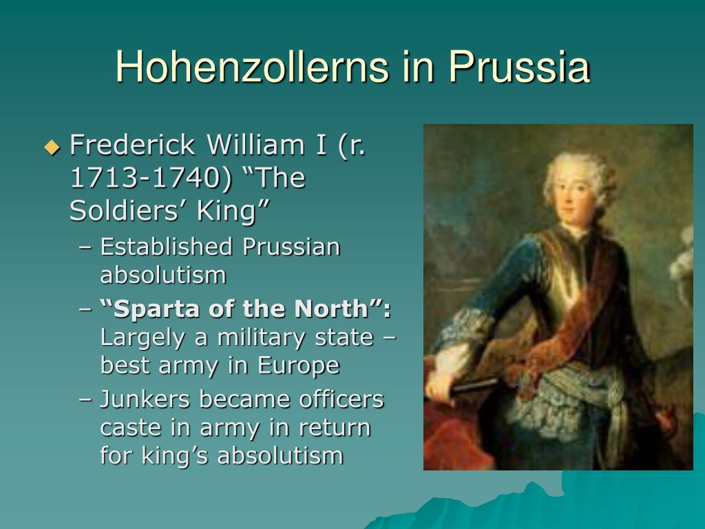 Hohenzollerns in Prussia
