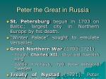 peter the great in russia24