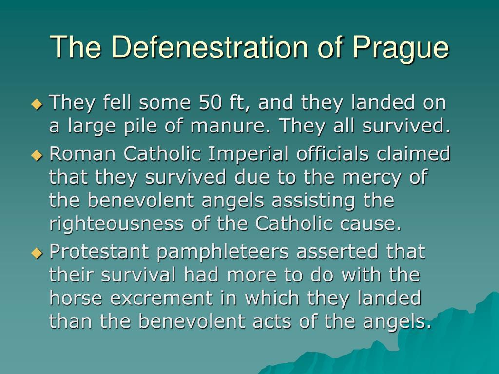 The Defenestration of Prague