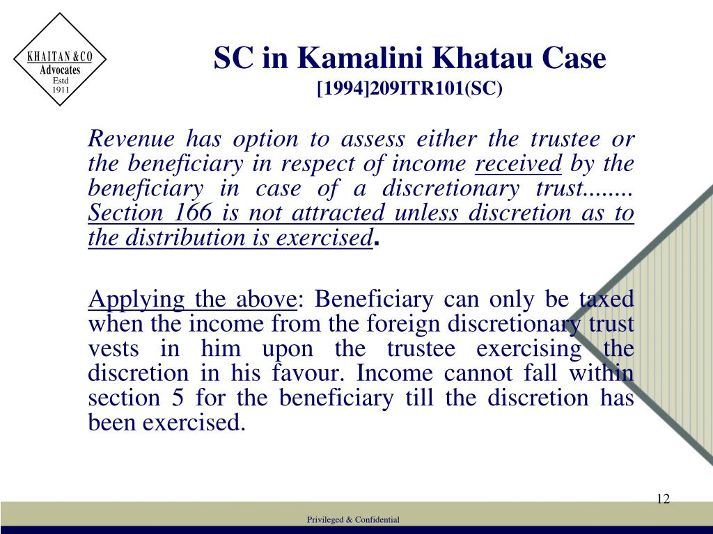 SC in Kamalini Khatau Case