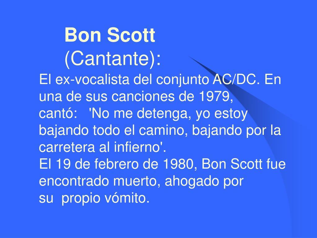 Bon Scott