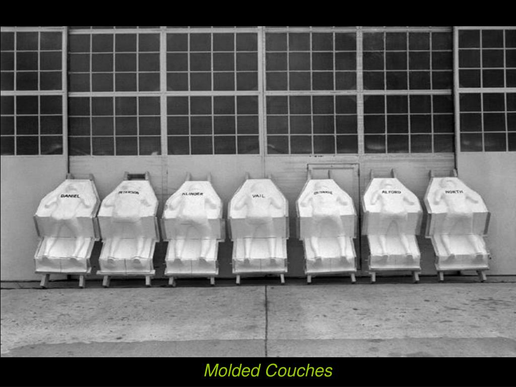 Molded Couches