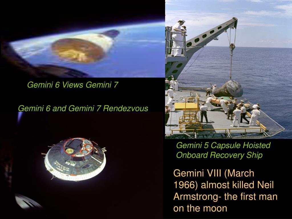 Gemini 6 Views Gemini 7