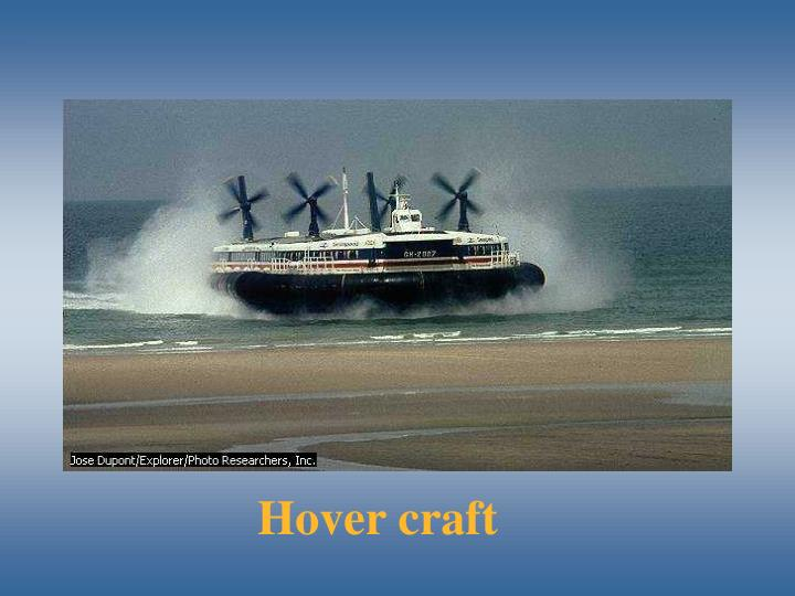 Hover craft