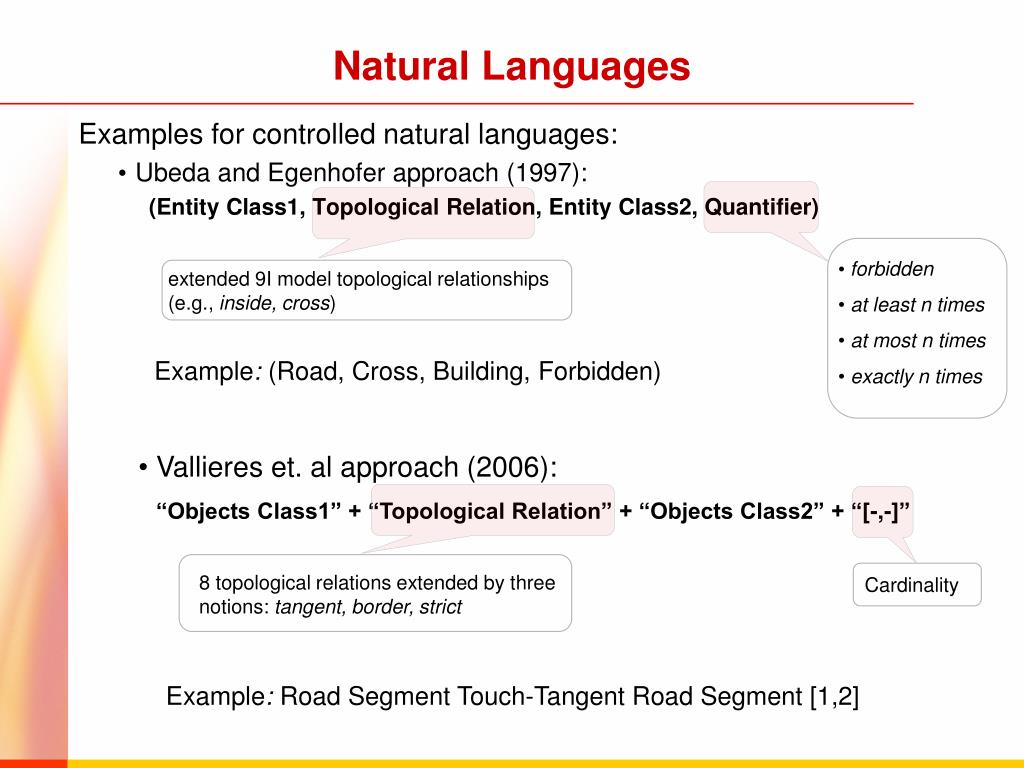 Natural Languages