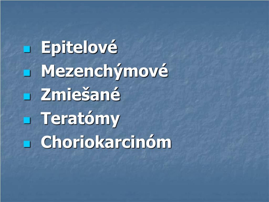 Epitelové