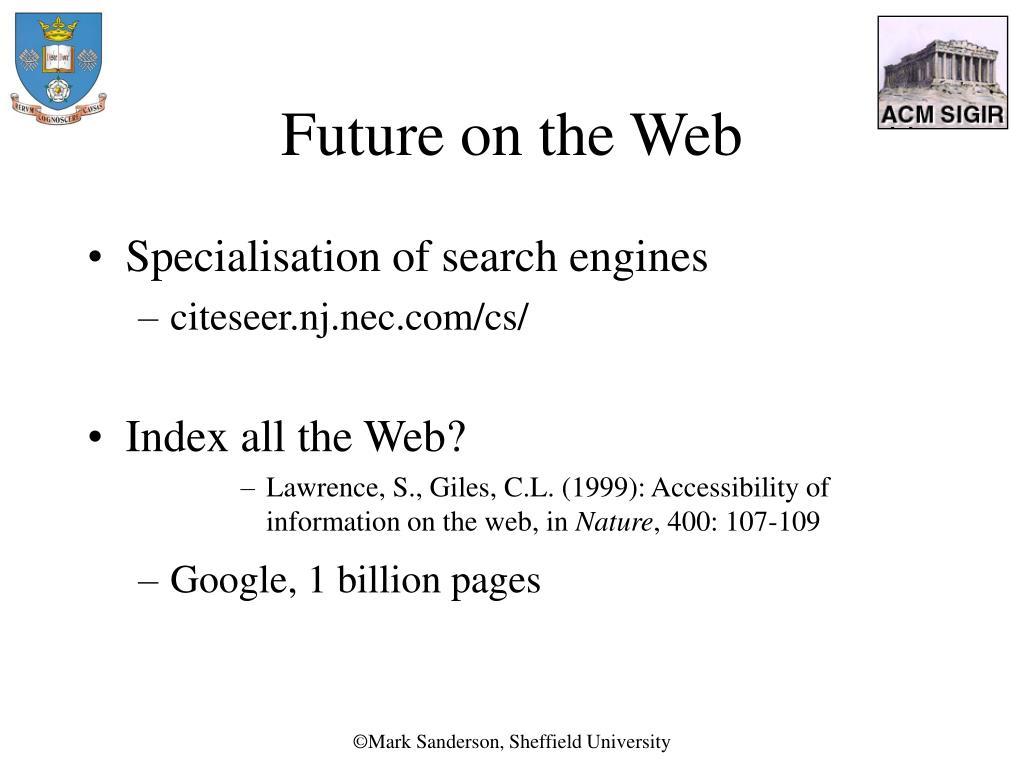Future on the Web