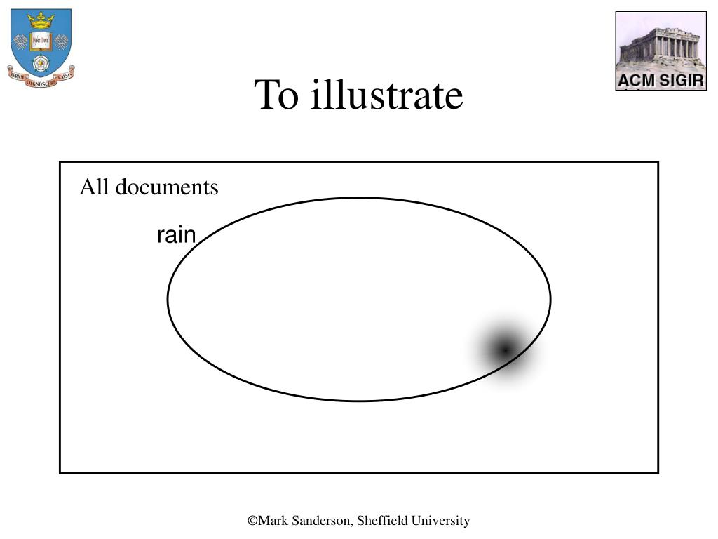 To illustrate
