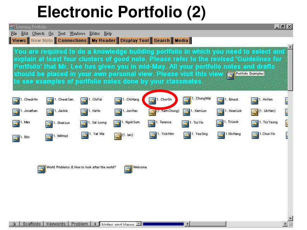 Electronic Portfolio (2)