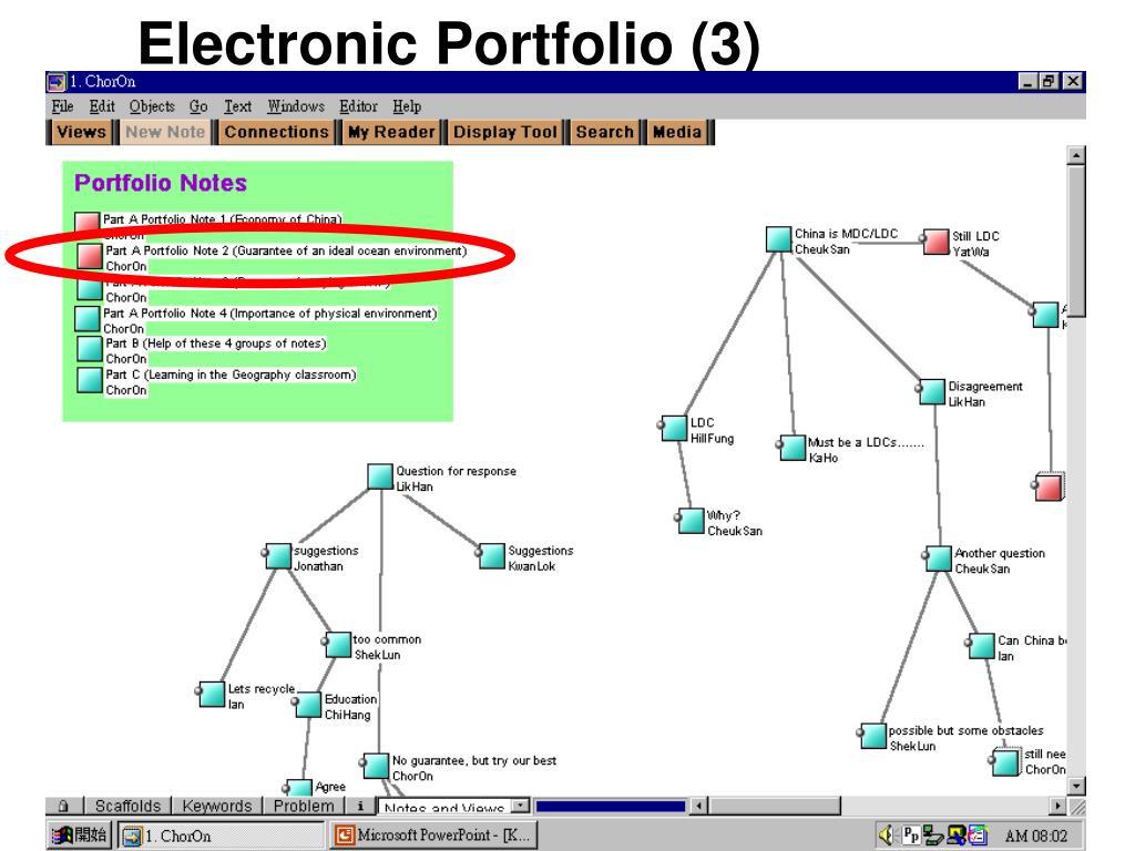 Electronic Portfolio (3)