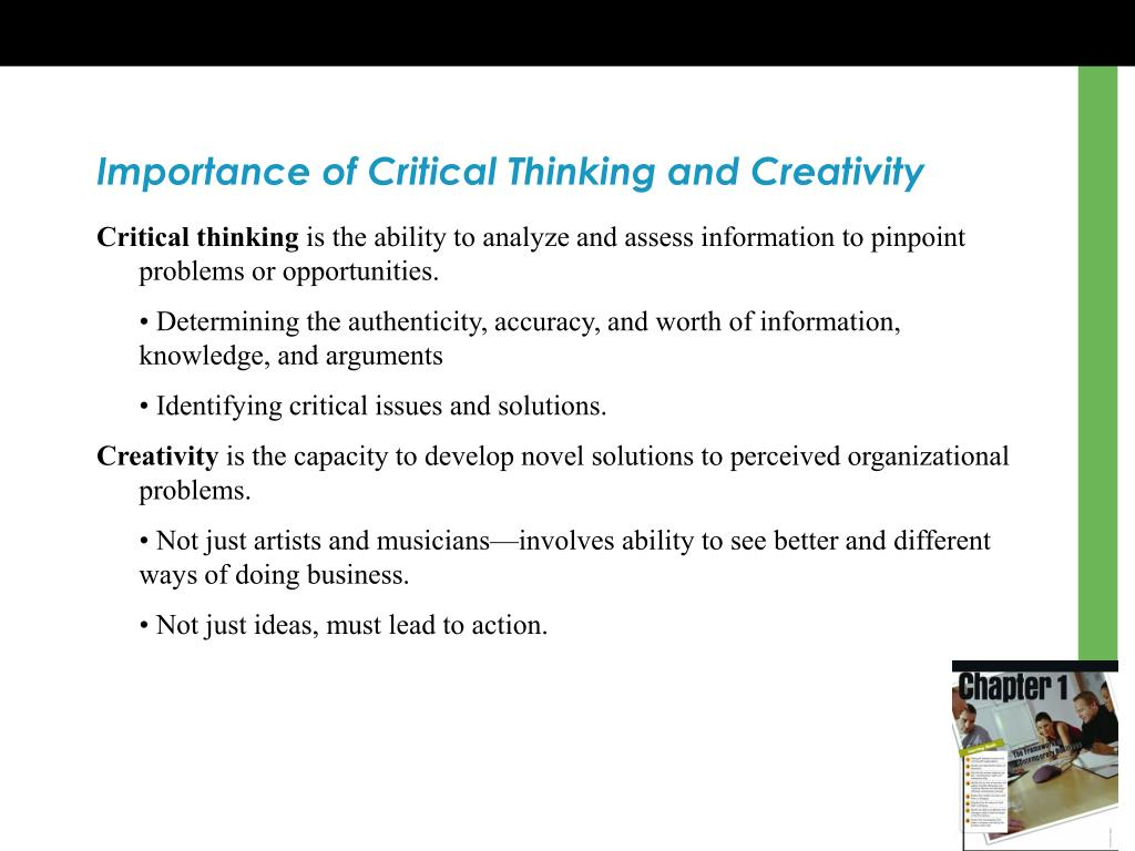 The importance of critical thinking for student use of the internet