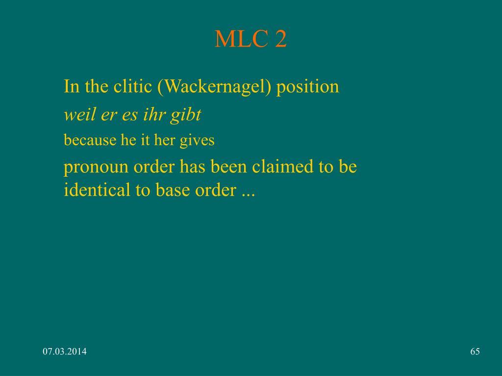 MLC 2