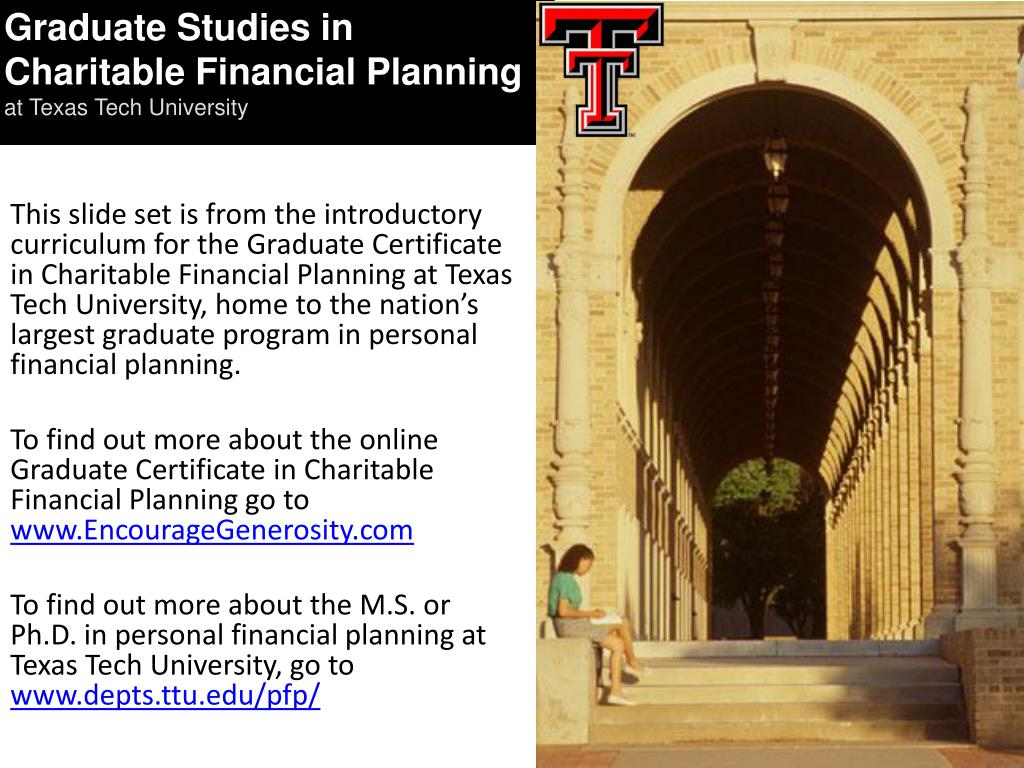 Graduate Studies in