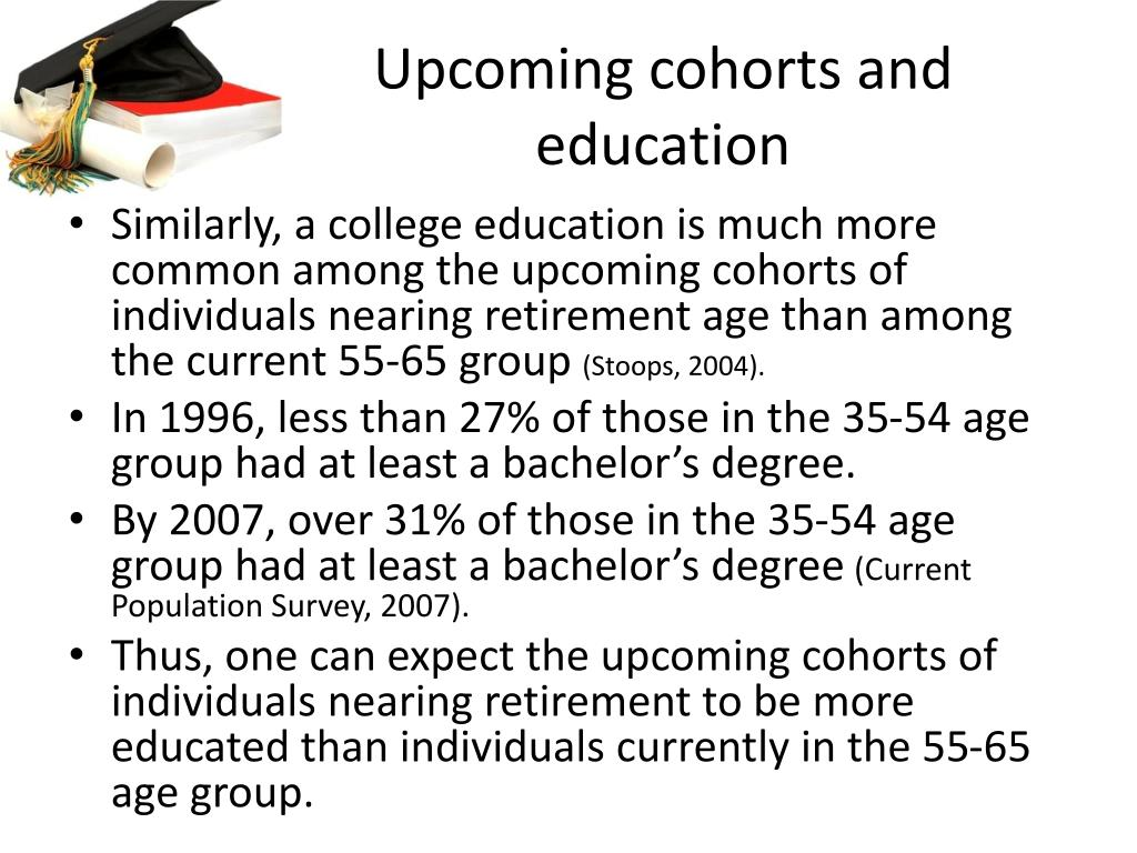 Upcoming cohorts and education