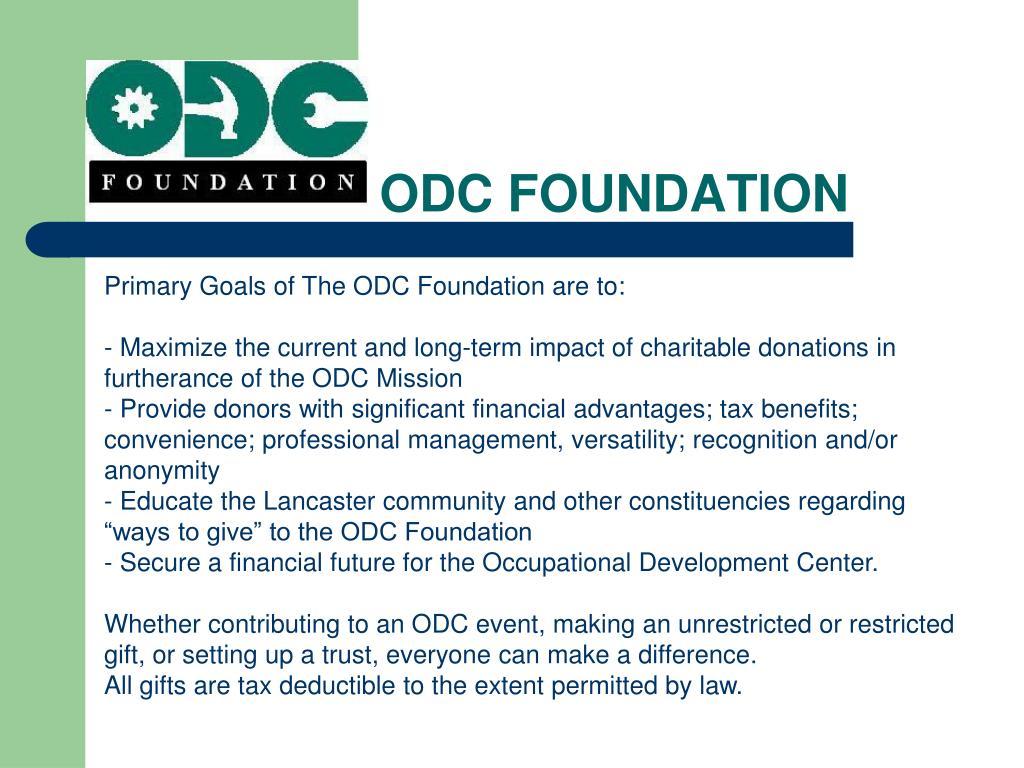 ODC FOUNDATION