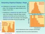 interpreting graphical displays shape