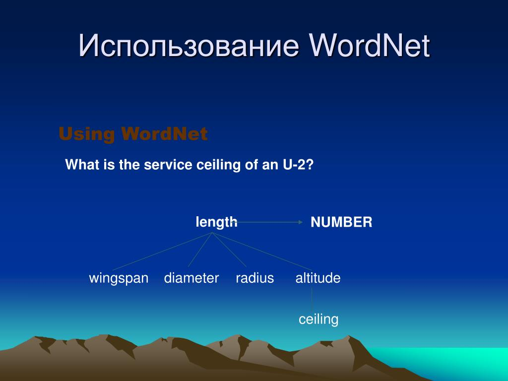 Using WordNet