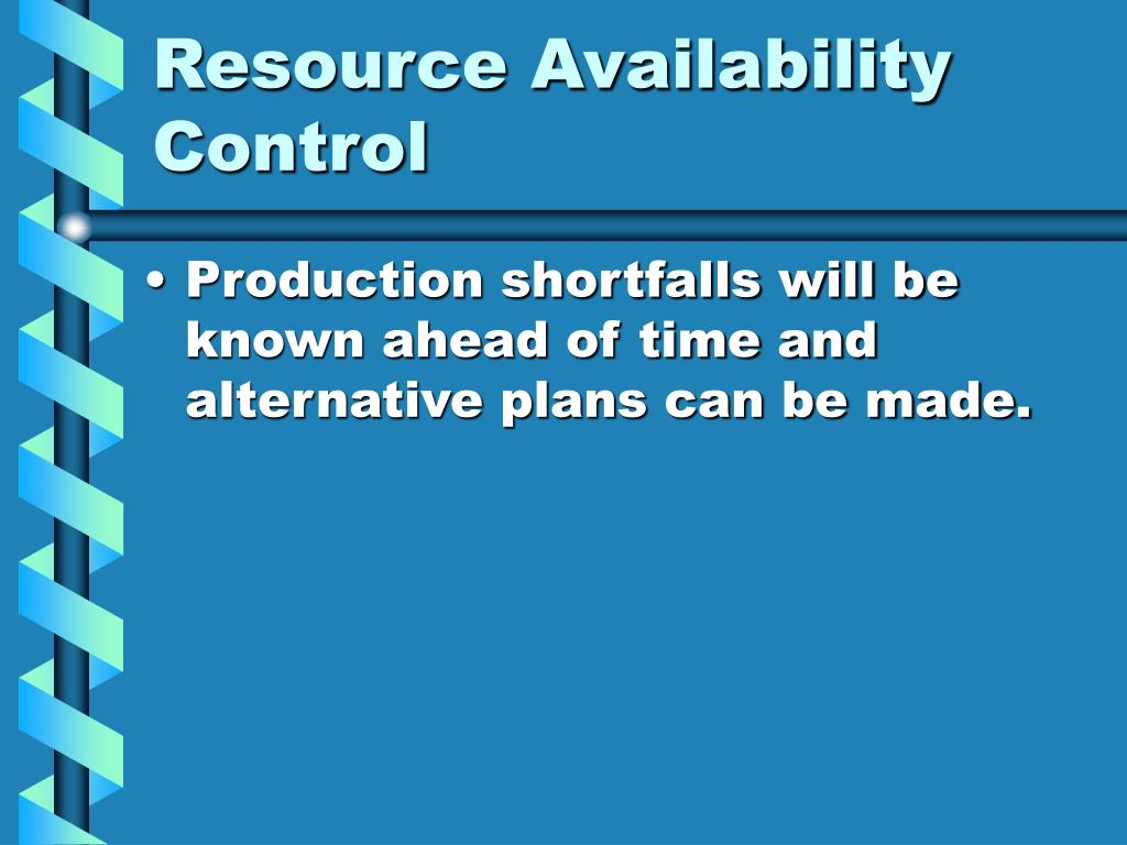 the importance of the master production schedule in an mrp system Assignment chapter 21  discuss the importance of the master production schedule (mps)  an mrp system uses master production schedule.