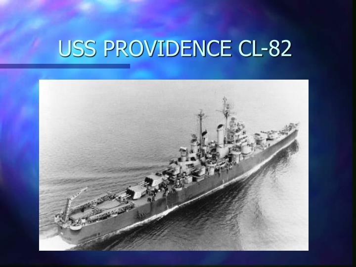 USS PROVIDENCE CL-82