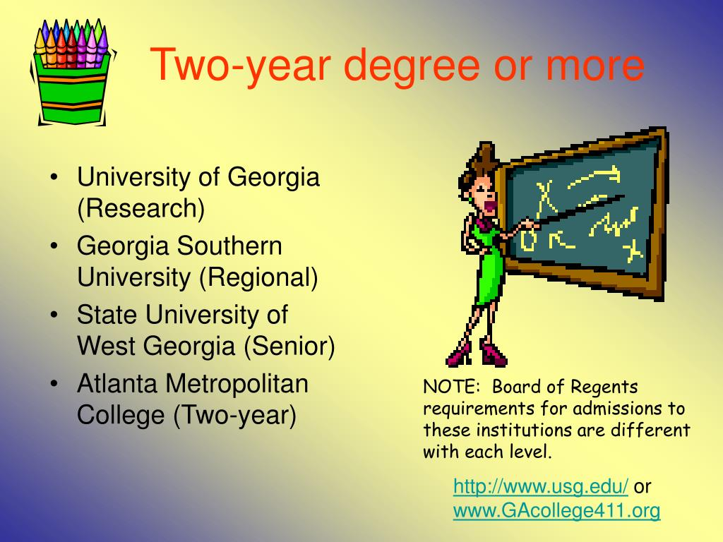Two-year degree or more