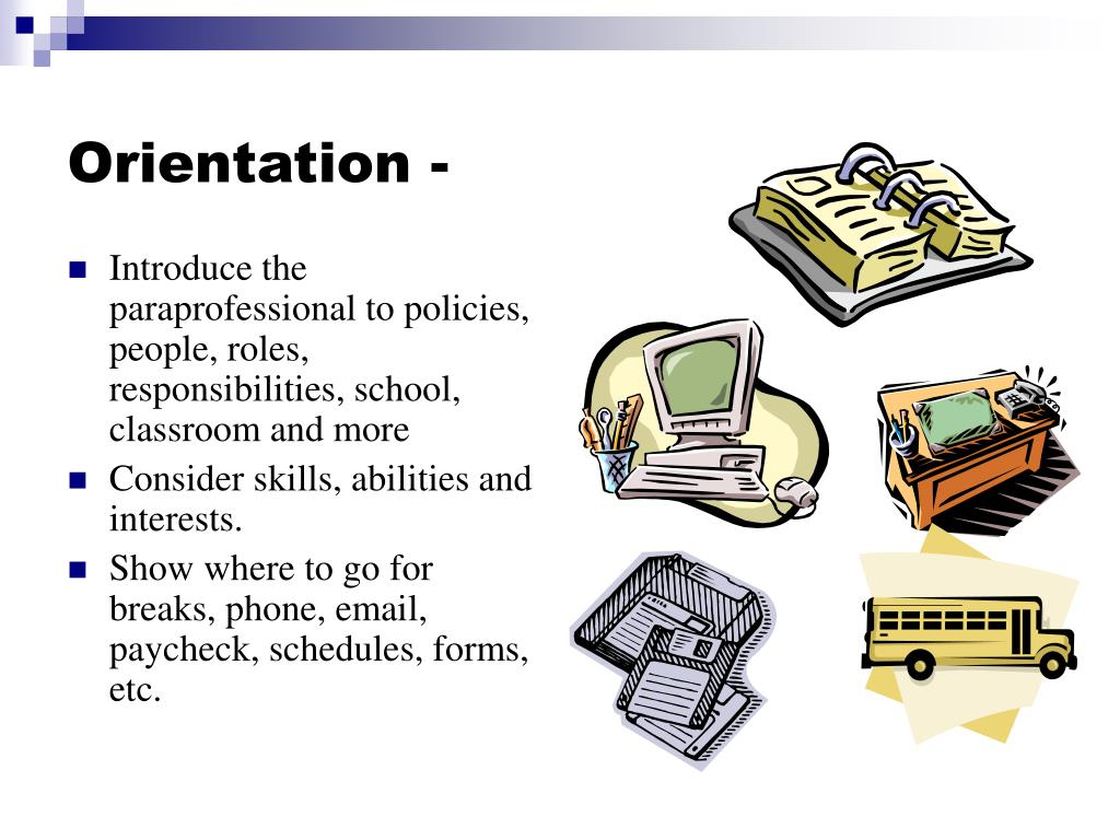 Orientation -